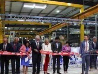 美国第一家中国独资电动大巴工厂全面投产
