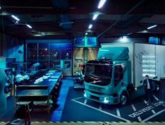 电动卡车Volvo FL Electric配备2-6块电池组