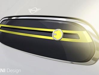 MINI公布首款电动汽车预告图 就是不给你看脸
