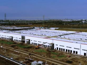 特斯拉上海工厂建设完工 已在安装生产设备