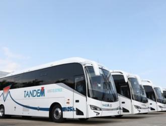 """征服""""南美洲脊梁"""" 金龙纯电动公路客车再入智利"""