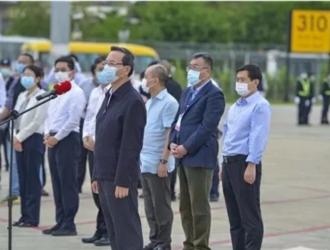 """海口公交集团顺利完成海南支援湖北医疗队员""""凯旋""""接送任务"""