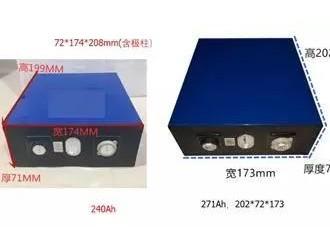 磷酸铁锂电芯尺寸发展方向