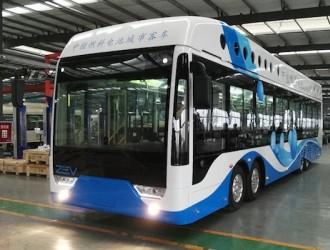 中日企业共同打造氢燃料电池公交