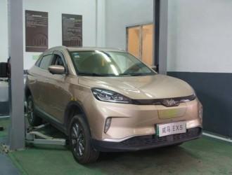 一台威马EX5行驶20万公里 实测电池衰减不到3%