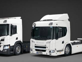Scania发布纯电动卡车 续航里程达250公里