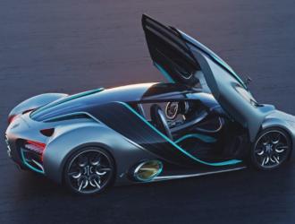 一款氢燃料电池超跑可跑1600公里,最高时速355km/h