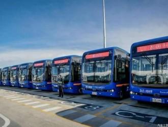 加速电动化 比亚迪海外交付纯电动客车
