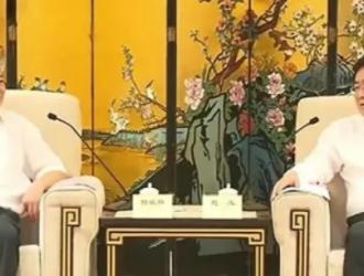 福建省委常委、厦门市委书记赵龙会见曾毓群董事长一行